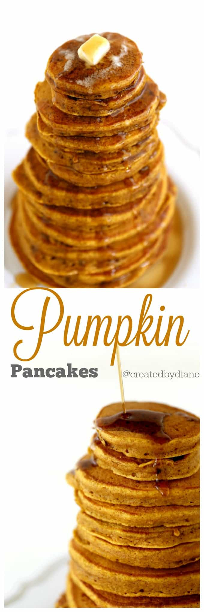 Fantastic Pumpkin Pancake Recipe @createdbydiane