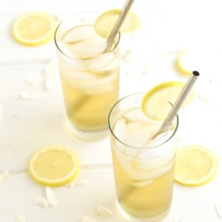 Lemon Coconut Water Cocktail