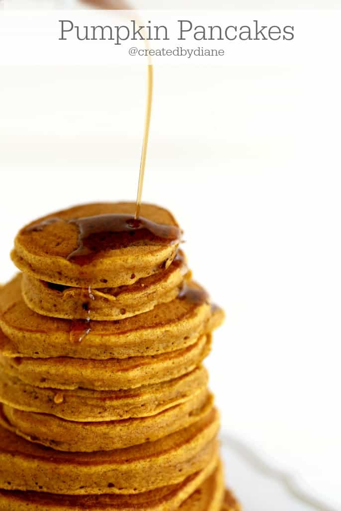 pumpkin pancakes from @createdbydiane