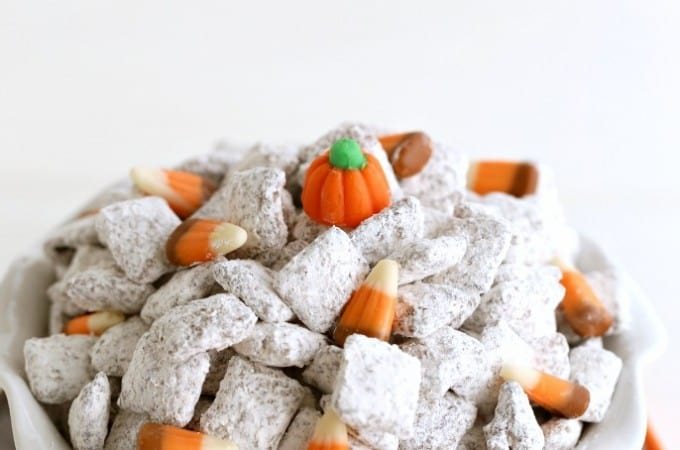 pumpkin spice muddy buddy recipe from @createdbydiane