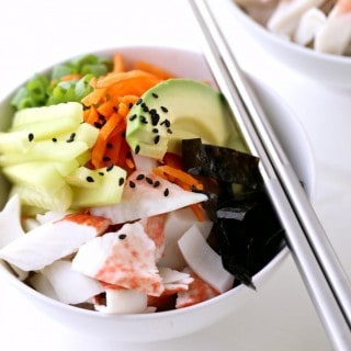 California Roll Bowl