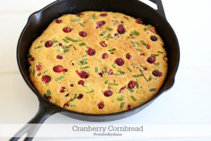 cranberry cornbread recipe @createdbydiane