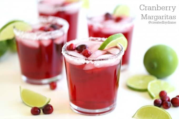 cranberry margaritas so delicious from @createdbydiane