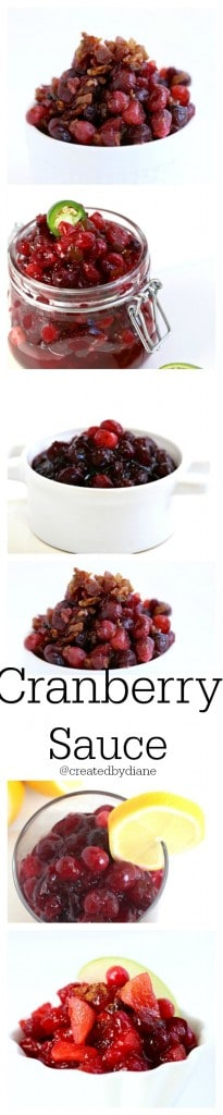 cranberry sauces from @createdbydiane