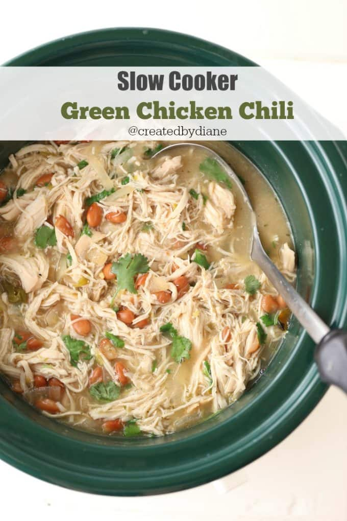 Green Chicken Or Turkey Chili Created By Diane