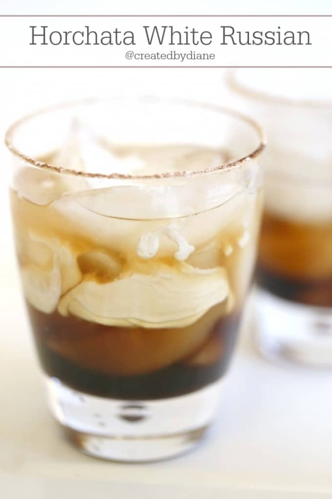 Horchata White Russian from @createdbydiane
