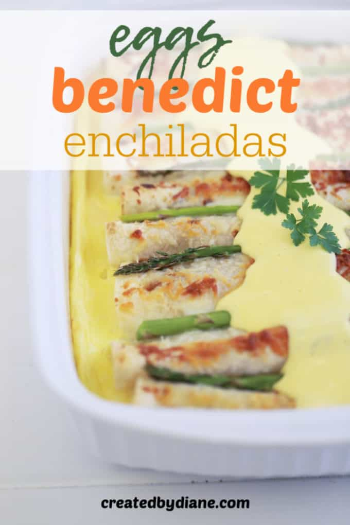 eggs benedict enchiladas createdbydiane.com