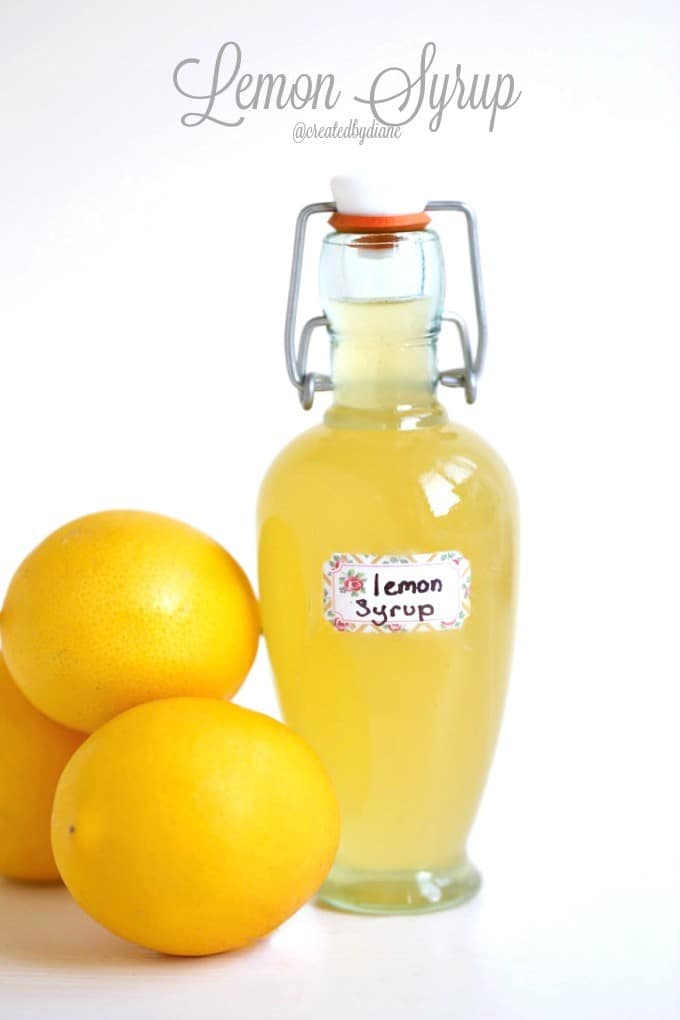Lemon Syrup @createdbydiane