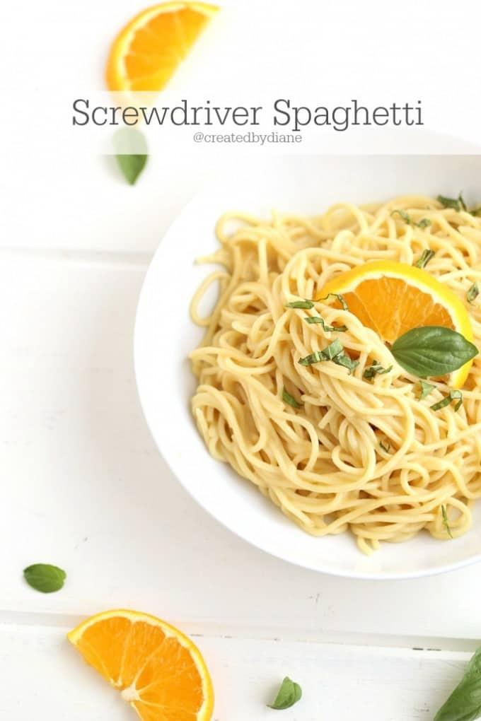 Screwdriver Spaghetti @createdbydiane