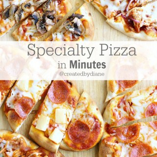 Easy Specialty Pizza in Minutes