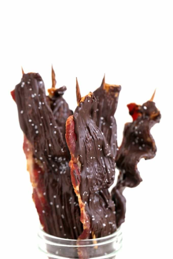how to make the BEST chocolate covered bacon createdbydiane.com