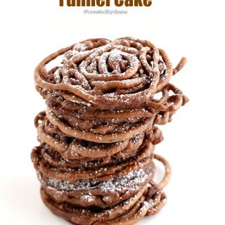 Chocolate Funnel Cake