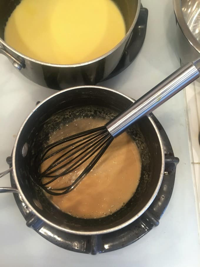 screwdriver sauce with browned butter
