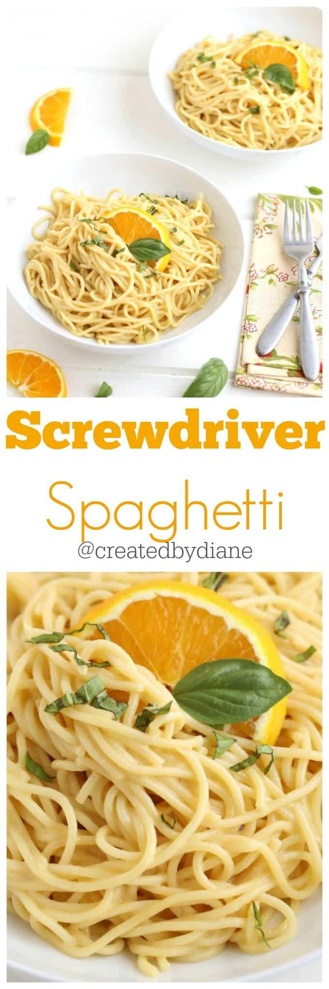 screwdriver spaghetti delicious