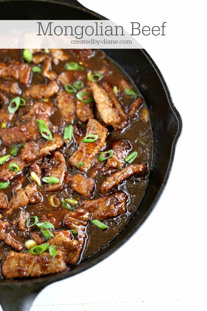 Mongolian beef createdby-diane.com