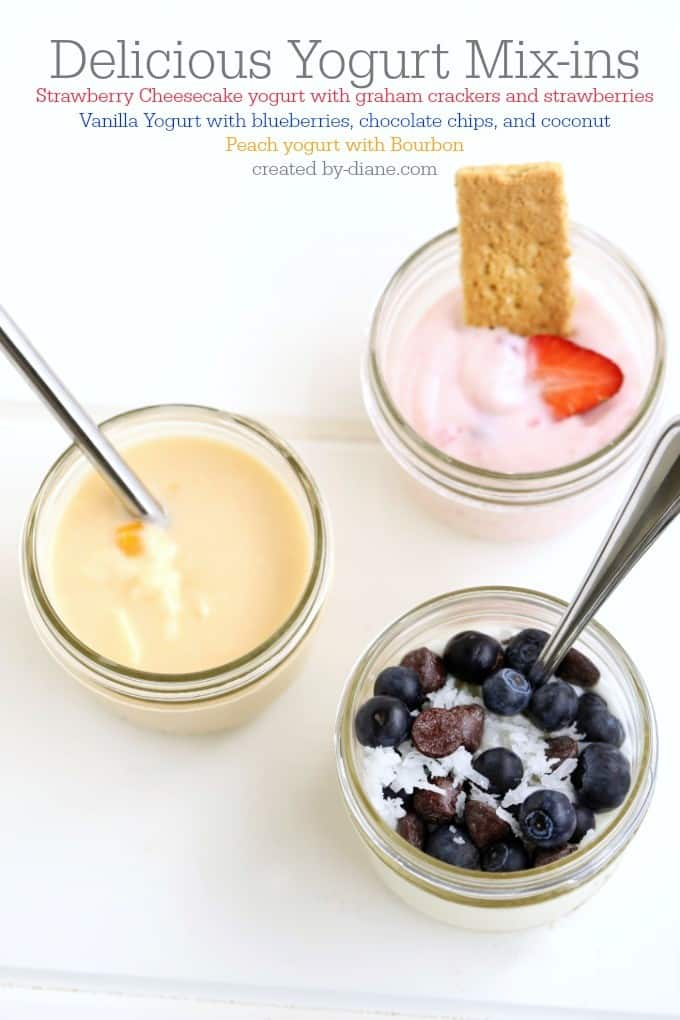 delicious yogurt mixins