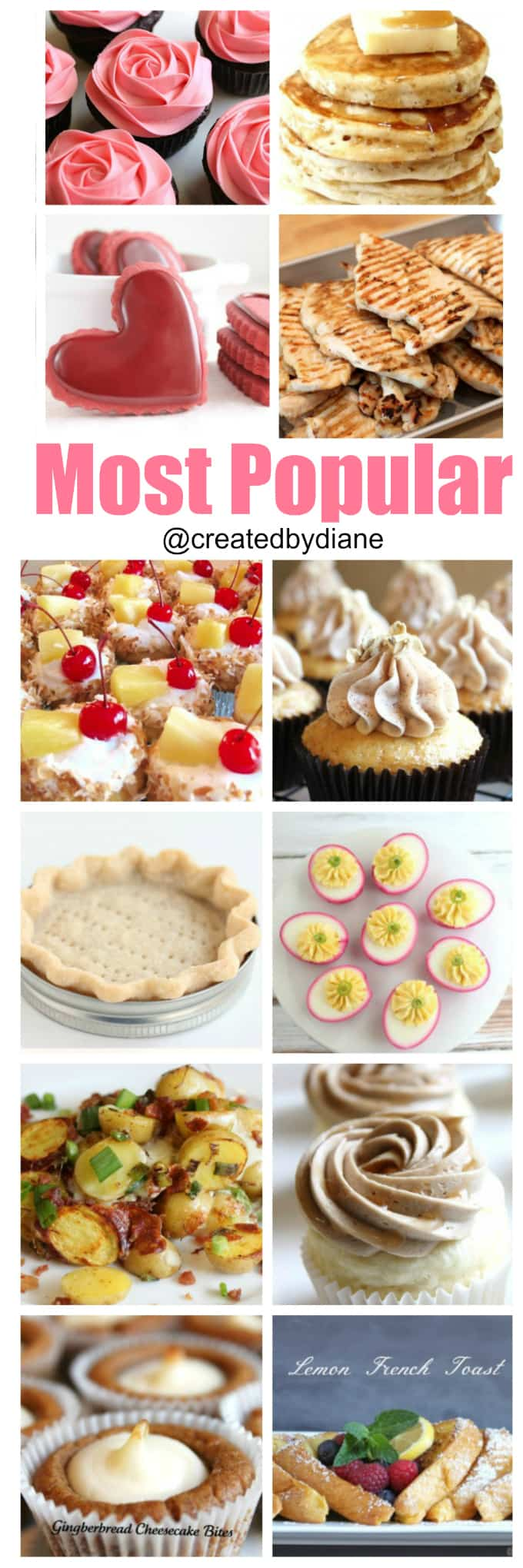 most popular @createdbydiane