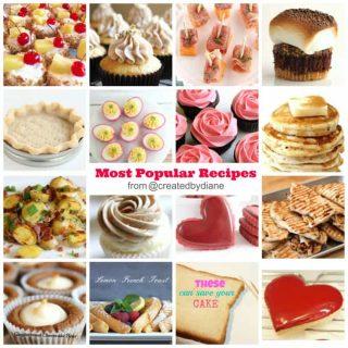 my most popular recipes food blogger www.createdbydiane