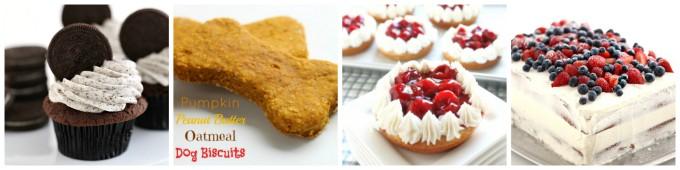 popular oreo, peanut butter, cherry pie, vanilla cake www.createdbydiane.com