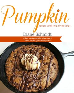 #pumpkin recipe ebook @createdbydiane