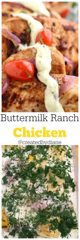 buttermilk ranch chicken marinade @createdbydiane