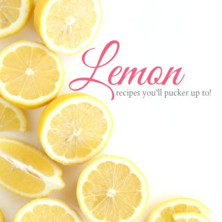 Lemon recipes you'll pucker up to