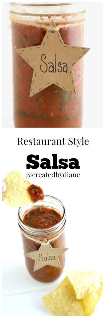 restaurant style salsa from @createdbydiane