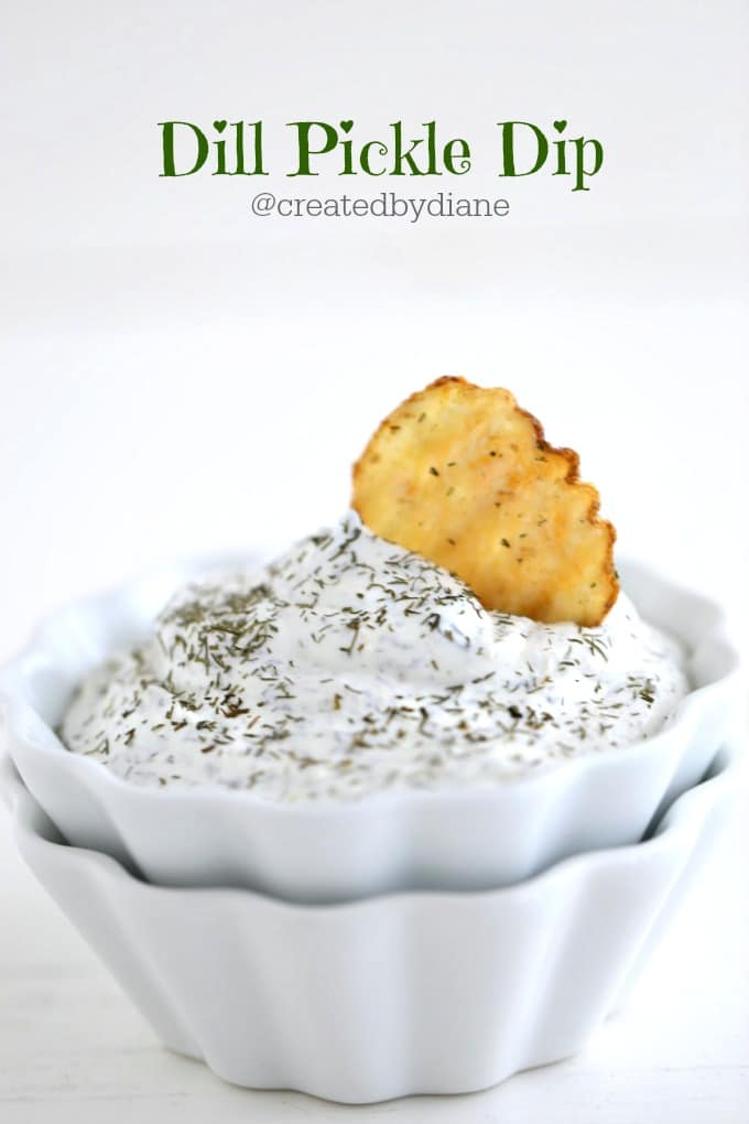 Dill Pickle Dip @createdbydiane