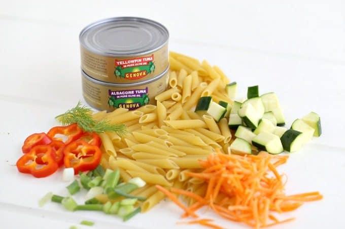 Genova Tuna pasta salad