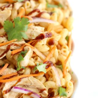 BBQ Chicken Macaroni Salad