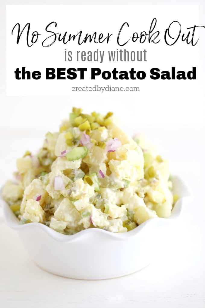 potato salad recipe createdbydiane.com