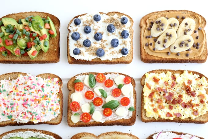 6 more toast options