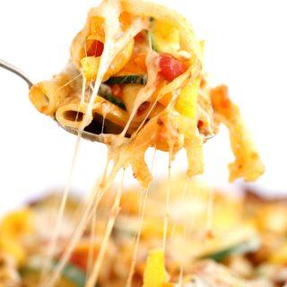 Italian Zucchini Baked Ziti