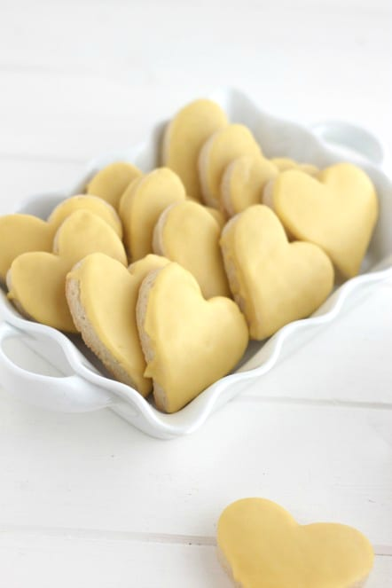 Quick Lemon Iced Cookies @createdbydiane