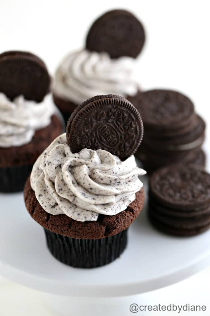 cookies and cream frosting recipe from @createdbydiane