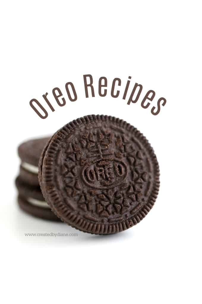 oreo recipes #chocolate www.createdbydiane.com