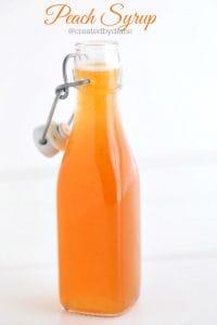 peach syrup @createdbydiane