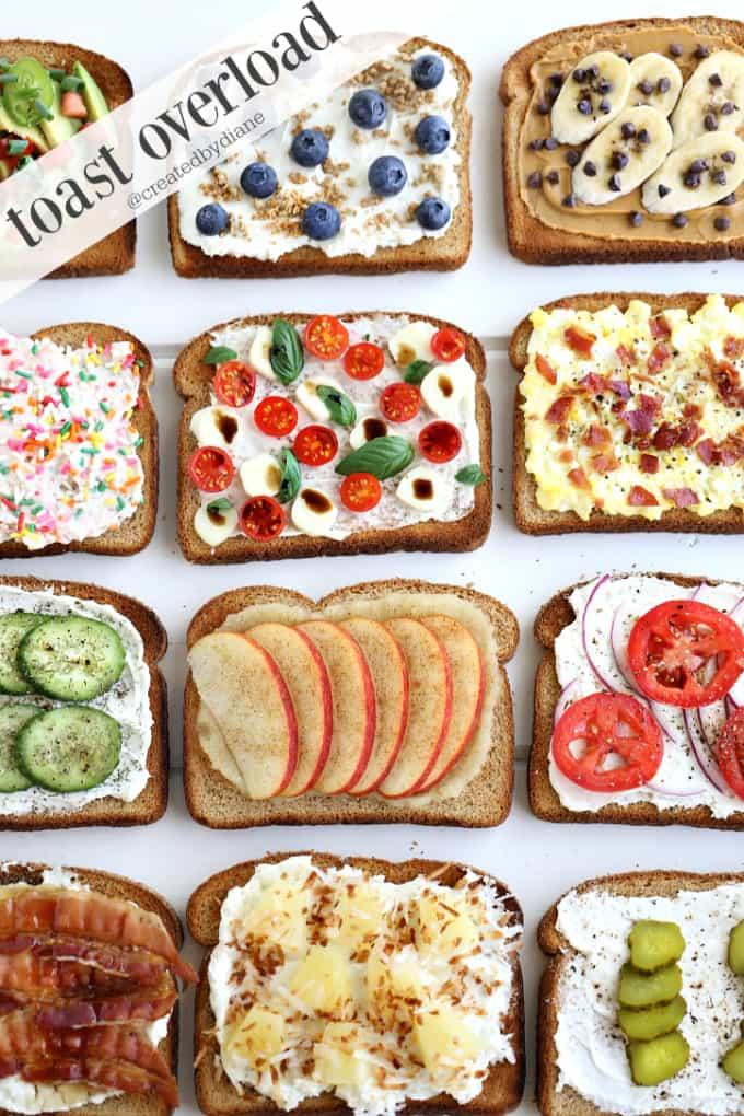 toast overload @createdbydiane