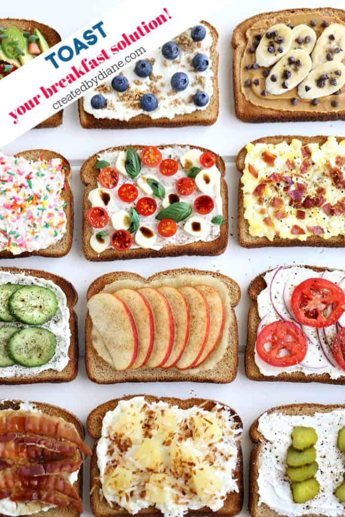 toast, your breakfast solution createdbydiane.com