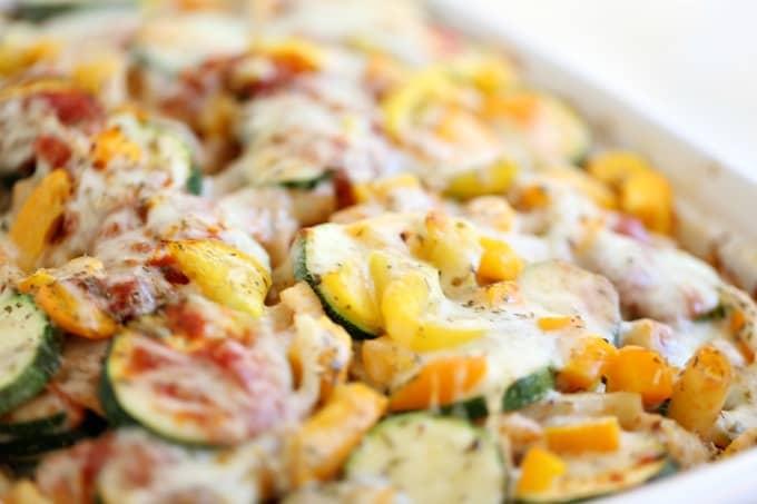 zucchini baked ziti @createdbydiane