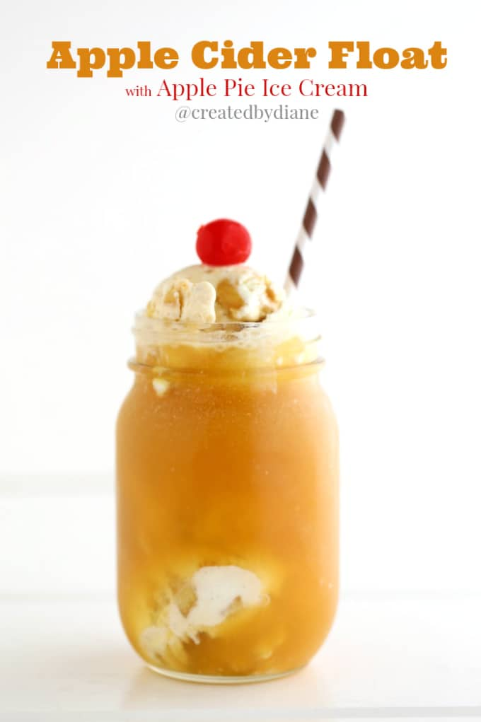 apple-cider-float-with-apple-pie-ice-cream-createdbydiane