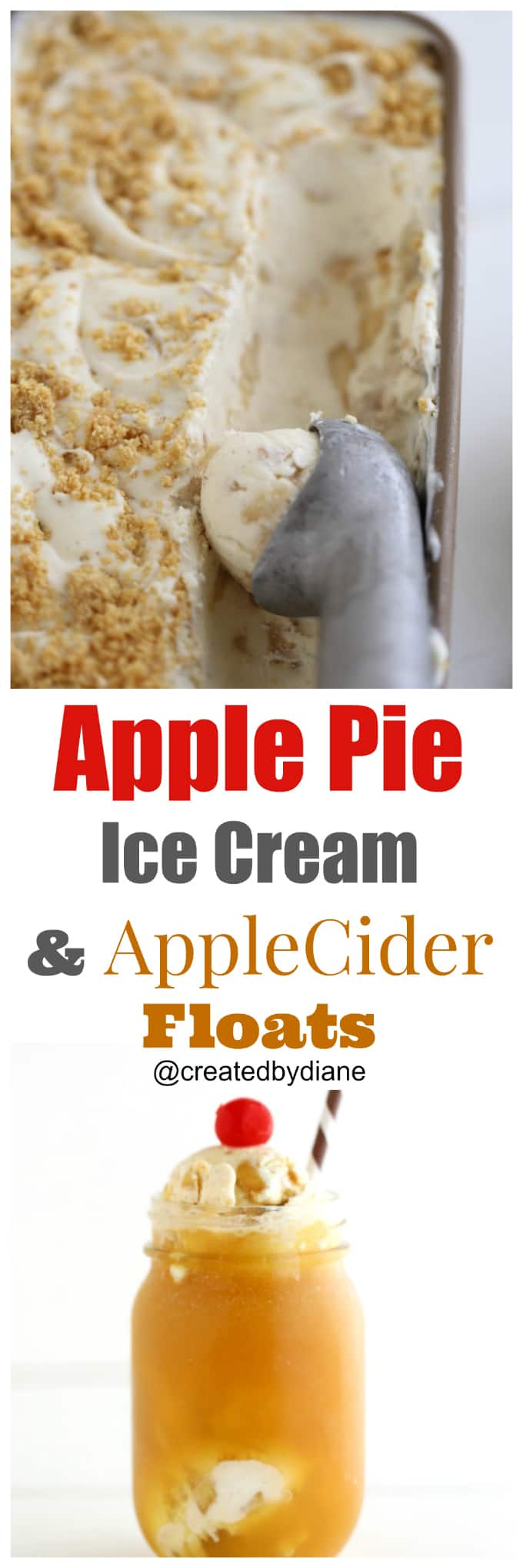 apple-pie-ice-cream-recipe-with-apple-cider-floats-createdbydiane