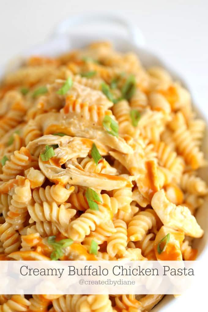 creamy-buffalo-chicken-pasta-createdbydiane