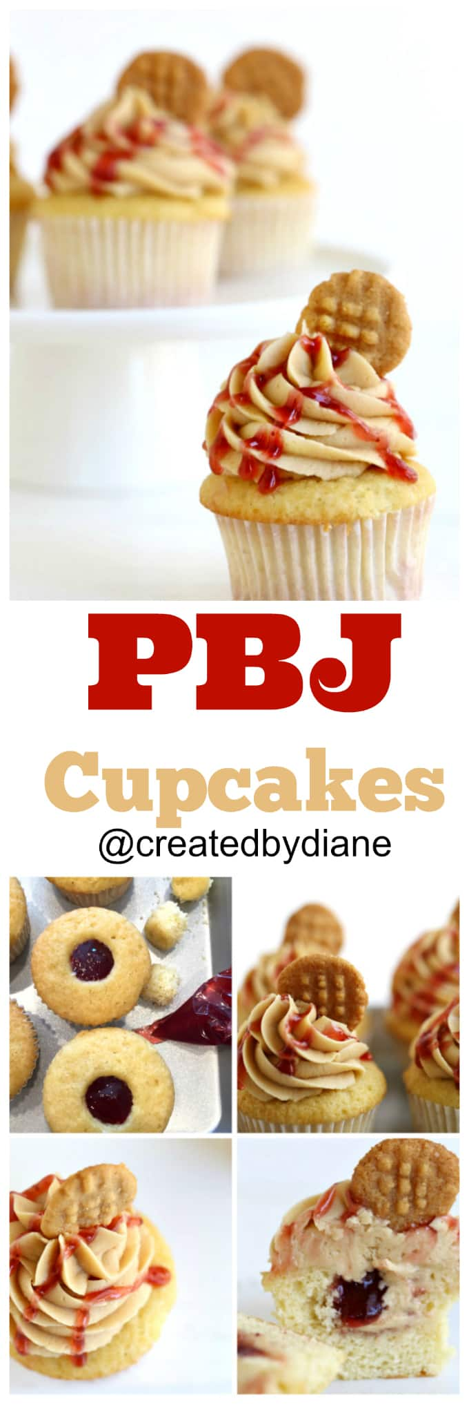 pbj-cupcakes-recips-fantastically-delicious-and-great-for-peanut-butter-lovers-everywhere-peanut-butter-cupcakes-strawberry-jam-jelly-peanut-butter-frosting-createdbydiane
