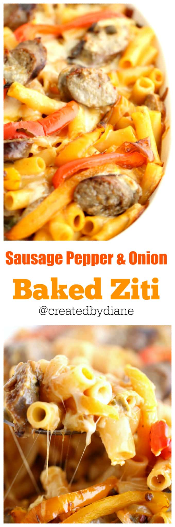 sausage-pepper-and-onion-baked-ziti-recipe-from-www-createdby-diane-com