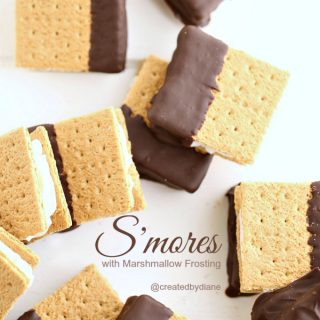 S'mores with Marshmallow Frosting