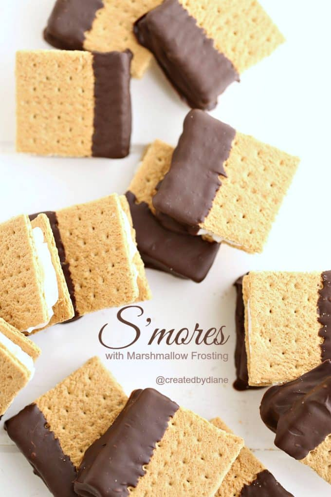 smores-with-marshmallow-frosting-createdbydiane-copy