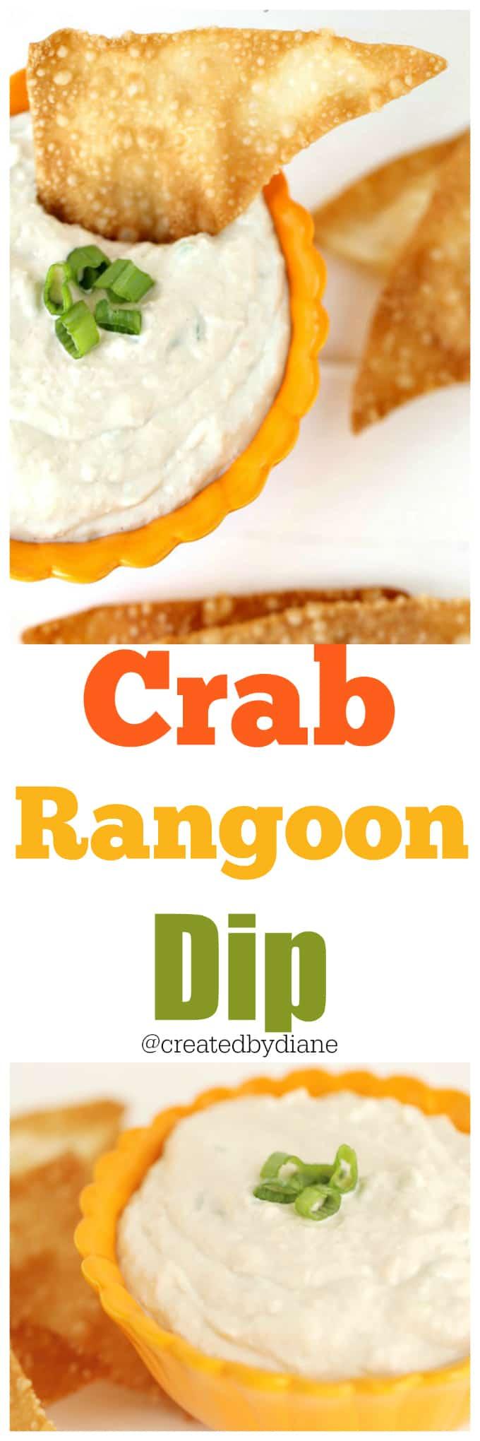 crab rangoon dip @createdbydiane