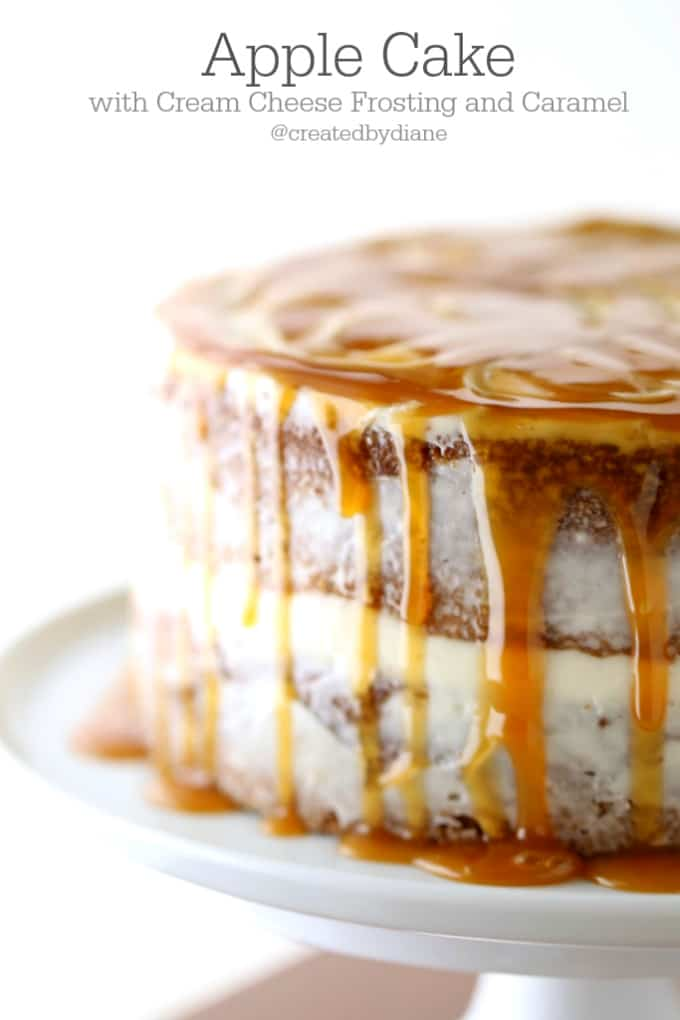 delicious-apple-cake-with-cream-cheese-frosting-and-caramel-createdbydiane