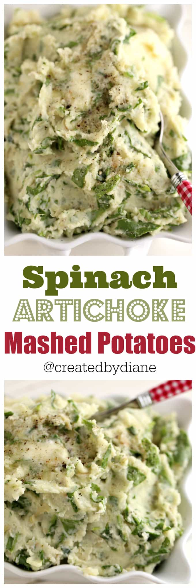 spinach-and-artichoke-mashed-potatoes-with-garlic-and-onions-createdbydiane